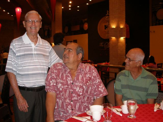 David Knaggs, Past President and one of the founders of Marlins with Ken Clarke and Kenny Blanchard