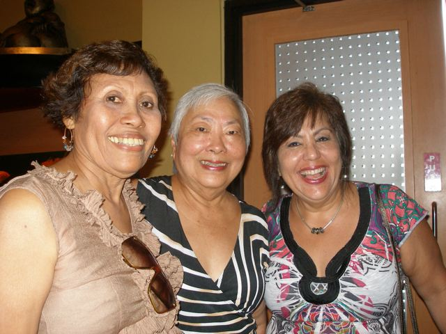 Moy Belgrave, Yolande Chin and jackie Francois