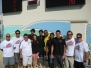 Marlins Swim Team from Trinidad & Tobago visits Davie