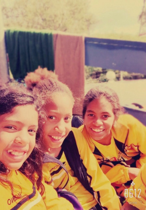 Mekelle, Savannah and Zoe